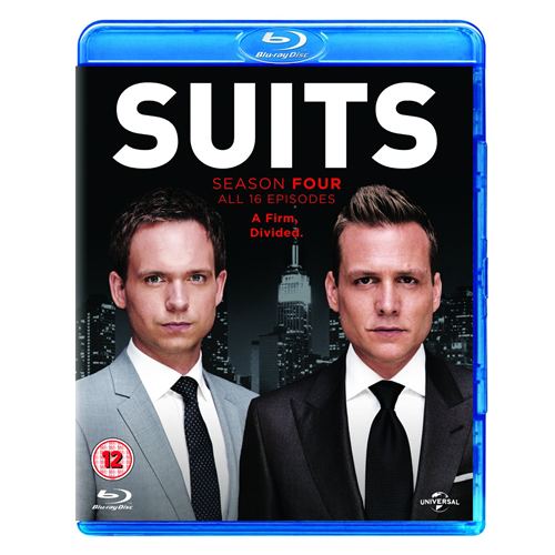 Suits - Sesong 4 (UK-import) (BLU-RAY)