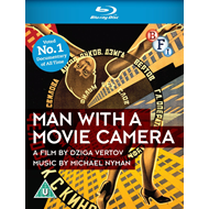 Man With A Movie Camera (UK-import) (BLU-RAY)