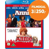 Produktbilde for Annie (1982) / Annie (2014) (BLU-RAY)