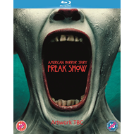 American Horror Story: Freak Show - Sesong 4 (UK-import) (BLU-RAY)