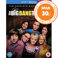 The Big Bang Theory - Sesong 8 (UK-import) (BLU-RAY)