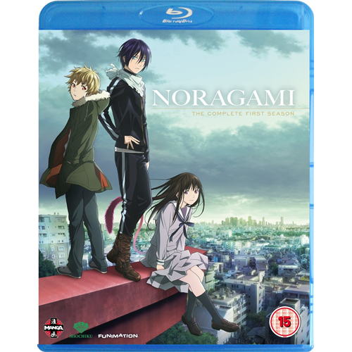 Noragami - The Complete First Season (UK-import) (BLU-RAY)