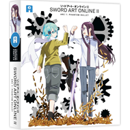 Sword Art Online II: Part 1/4 - Arc 1: Phantom Bullet (UK-import) (BLU-RAY)