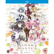 Puella Magi Madoka Magica The Movie - Rebellion (UK-import) (BLU-RAY)