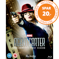 Agent Carter - Sesong 1 (UK-import) (BLU-RAY)