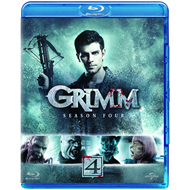 Grimm - Sesong 4 (UK-import) (BLU-RAY)