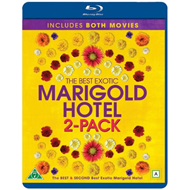 The Best Exotic Marigold Hotel 1 & 2 (BLU-RAY)