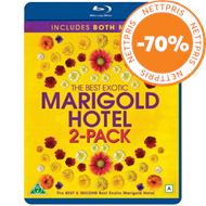 Produktbilde for The Best Exotic Marigold Hotel 1 & 2 (BLU-RAY)
