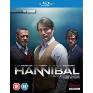 Hannibal - Sesong 1 - 3 (UK-import) (BLU-RAY)