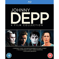 Johnny Depp - 4 Film Collection (UK-import) (BLU-RAY)