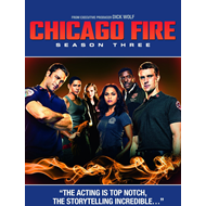 Chicago Fire - Sesong 3 (UK-import) (BLU-RAY)