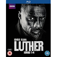 Luther - Sesong 1-4 (UK-import) (BLU-RAY)