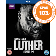 Produktbilde for Luther - Sesong 1-4 (UK-import) (BLU-RAY)
