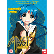 Magi - The Kingdom Of Magic - Sesong 2 Box 2 (UK-import) (BLU-RAY)