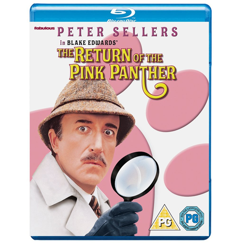 The Return Of The Pink Panther (UK-import) (BLU-RAY)