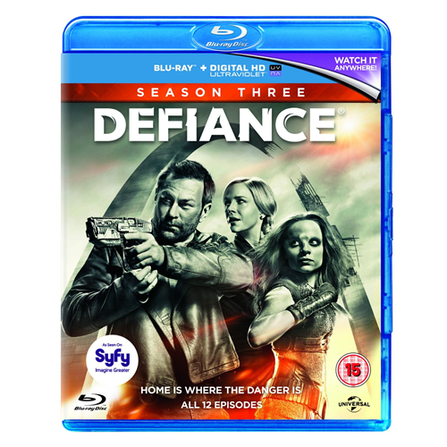 Defiance - Sesong 3 (UK-import) (BLU-RAY)