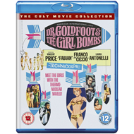 Dr. Goldfoot And The Girl Bomb (UK-import) (BLU-RAY)