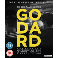 Godard - The Essential Collection (UK-import) (BLU-RAY)