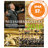 Produktbilde for New Year's Concert / Neujahrskonzert 2016 (BLU-RAY)