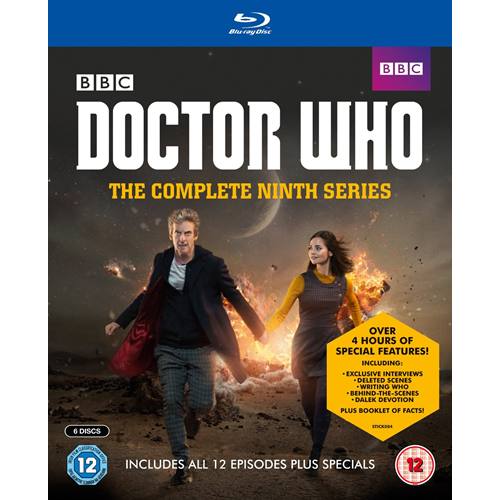 Doctor Who - Sesong 9 (UK-import) (BLU-RAY)