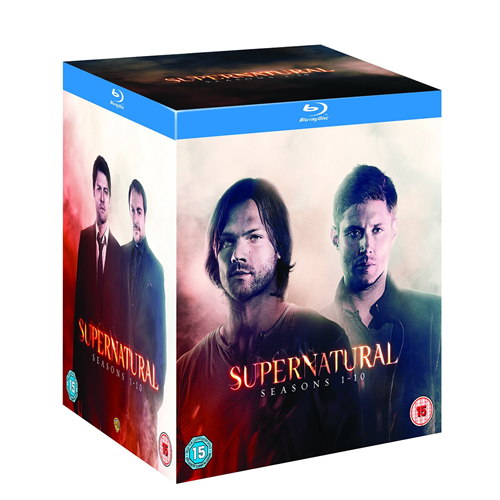 Supernatural - Sesong 1 - 10 (UK-import) (BLU-RAY)
