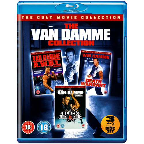 The Van Damme Collection (UK-import) (BLU-RAY)