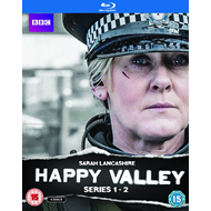 Happy Valley - Sesong 1 & 2 (UK-import) (BLU-RAY)