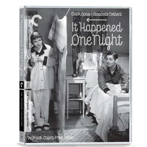 It Happened One Night - Criterion Collection (UK-import) (BLU-RAY)