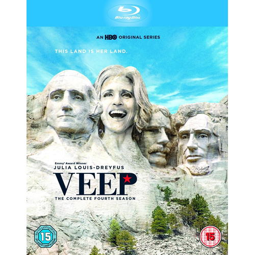 Veep - Sesong 4 (UK-import) (BLU-RAY)