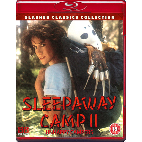 Sleepaway Camp 2 - Unhappy Campers (UK-import) (BLU-RAY)