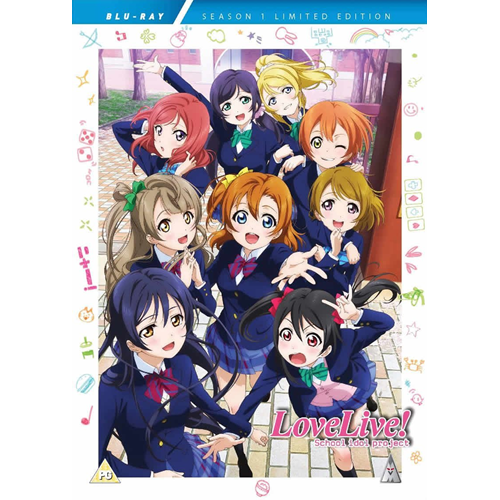 LoveLive! - School Idol Project - Sesong 1 (UK-import) (BLU-RAY)