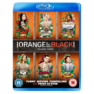 Orange Is The New Black - Sesong 3 (UK-import) (BLU-RAY)