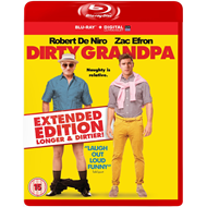 Dirty Grandpa - Extended Edtion: Longer & Dirtier (UK-import) (BLU-RAY)