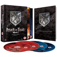 Attack On Titan - Complete Season 1 Collection (UK-import) (BLU-RAY)