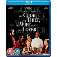 The Cook, The Thief, His Wife And Her Lover (UK-import) (BLU-RAY)