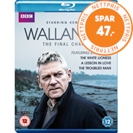 Produktbilde for Wallander - The Final Chapter (Sesong 4) (UK-import) (BLU-RAY)
