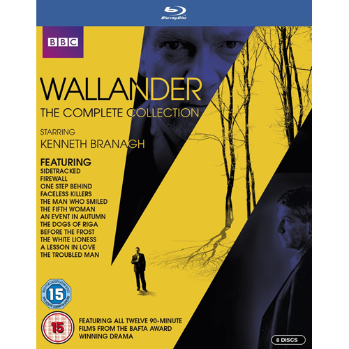 Wallander - The Complete Series (UK-import) (BLU-RAY)