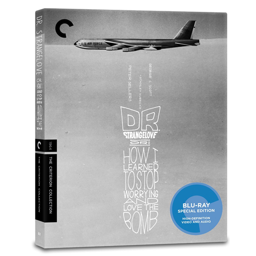 Dr. Strangelove or: How I Learned To Stop Worrying and Love The Bomb - Criterion Collection (UK-import) (BLU-RAY)