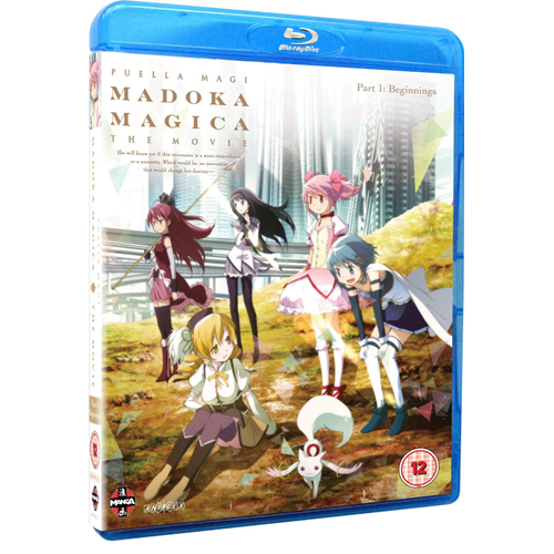 Puella Magi Madoka Magica The Movie: Part 1 - Beginnings (UK-import) (BLU-RAY)