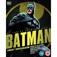 Batman - 5 Blu-ray Animated Collection (UK-import) (BLU-RAY)