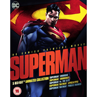 Superman - 5 Blu-ray Animated Collection (UK-import) (BLU-RAY)