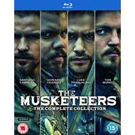 The Musketeers - The Complete Collection (UK-import) (BLU-RAY)