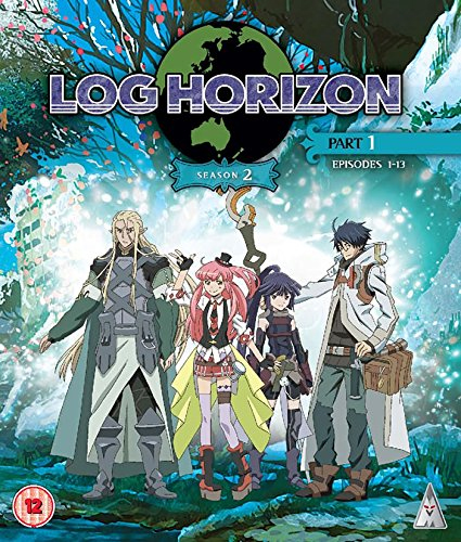 Log Horizon - Season 2 Part 1 (UK-import) (BLU-RAY)