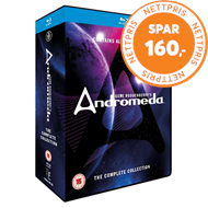 Produktbilde for Andromeda - The Complete Collection (UK-import) (BLU-RAY)