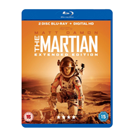 The Martian - Extended Edition (UK-import) (BLU-RAY)