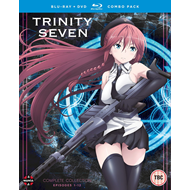 Trinity Seven - Complete Collection (UK-import) (Blu-ray + DVD)