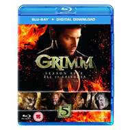 Grimm - Sesong 5 (UK-import) (BLU-RAY)