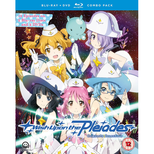 Wish Upon The Pleiades - Complete Collection (UK-import) (Blu-ray + DVD)
