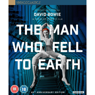 The Man Who Fell To Earth - 40th Anniversary Edition - Collector's Edition (UK-import) (Blu-ray + DVD + CD)