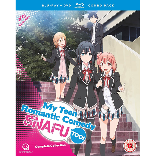My Teen Romantic Comedy SNAFU Too! - Complete Collection (UK-import) (Blu-ray + DVD)